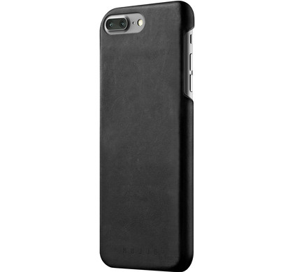 Mujjo Leather Case Apple iPhone 7 Plus Zwart