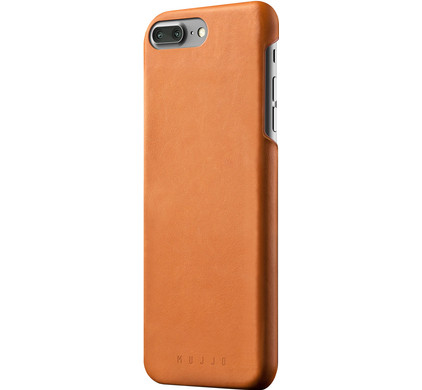 Mujjo Leather Case Apple iPhone 7 Plus/8 Plus Bruin