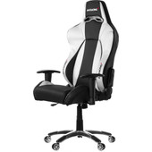 AK Racing Premium Gaming Chair Zwart / Zilver