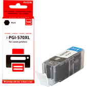 Huismerk Canon PGI-570XL Cartridge Zwart (Pixeljet - 0318C001)