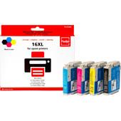 Huismerk Epson 16 XL 4-Kleuren Pack (Pixeljet - C13T16364010)