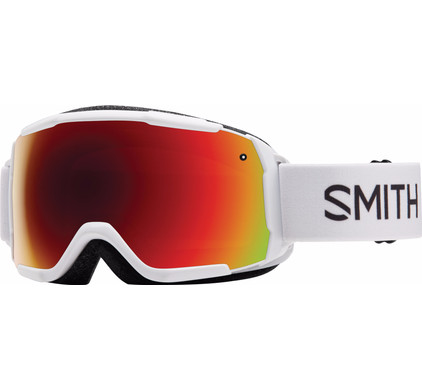Smith Grom Junior White + Red Sol-X Lens