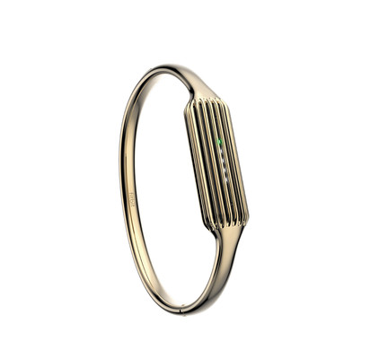 Fitbit Flex 2 Bangle Polsband Gold - S
