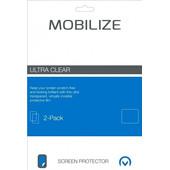 Mobilize Screenprotector BlackBerry DTEK50 Duo Pack