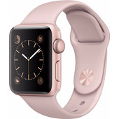 Apple Watch Series 1 38mm Rosegoud Aluminium/Rozenkwarts Sportband