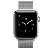 Apple Watch Series 2 38mm Roestvrij Staal/Milanese Polsband