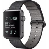 Apple Watch Series 2 42mm Spacegrijs Aluminium/Zwart Nylon