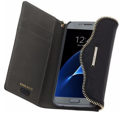 Case-Mate Rebecca Minkoff Wallet Case Samsung Galaxy S7 Zwart