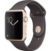 Apple Watch Series 2 42mm Goud Aluminium/Cacao Sportband