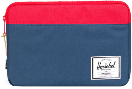 "Herschel Anchor Sleeve 12"" Navy/Red"