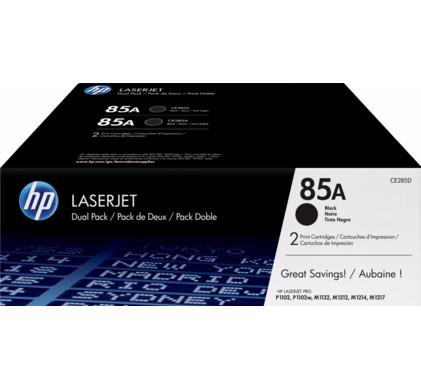 HP 85AD LaserJet Toner Zwart Dual Pack (CE285AD)