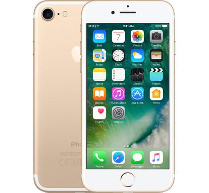 Apple iPhone 7 32 GB Goud, iOS 10|4,7 inch Retina HD-scherm|32 GB opslagcapaciteit|A10 Fusion-processorExtra gegevens:Merk: AppleModel: iPhone 7 32 GB GoudVoorraad: 2Contractduur:  jaarToestelprijs/artikelprijs: 769Levertijd : Pre-order nu en krijg hem als eerste in huis!