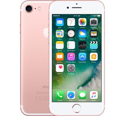 Apple iPhone 7 128 GB Rose Gold T Mobile, iOS 10|4,7 inch Retina HD-scherm|128 GB opslagcapaciteit|A10 Fusion-processorExtra gegevens:Merk: AppleModel: iPhone 7 128 GB Rose Gold T-MobileVoorraad: 2Contractduur:  jaarToestelprijs/artikelprijs: 879Levertijd : Pre-order nu en krijg hem als eerste in huis!