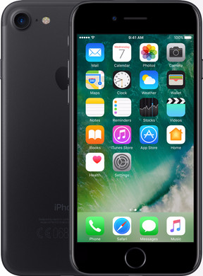 Apple iPhone 7 128 GB Zwart Vodafone