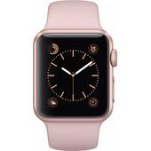 Apple Watch Series 1 38mm Rosegoud Aluminium/Rozenkwarts Sportband