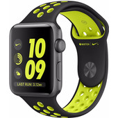 Apple Watch Nike+ 38mm Spacegrijs Aluminium/Zwart Volt Sportband