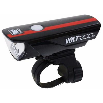 Image of Cateye Volt200 HL-EL15RC Zwart/Rood