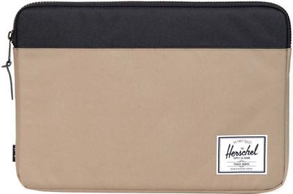 Herschel Anchor Sleeve voor 15'' Macbook Lead Green/Black