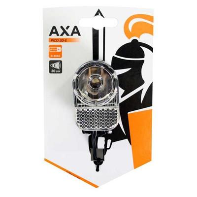 Image of AXA Koplamp Pico30-E Switch Led dynamo 6-42Volt aan/uit