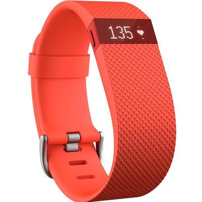 Image of Fitbit Charge HR activiteitsmeter - mandarijn - large