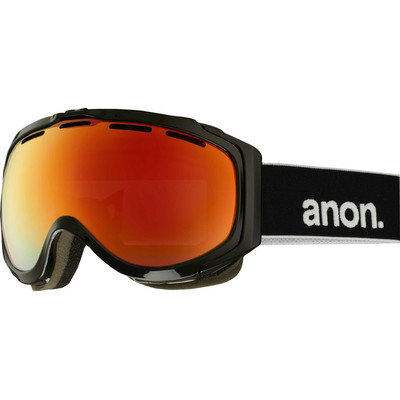 Anon Hawkeye - Goggle / Skibril - Black/Red Solex