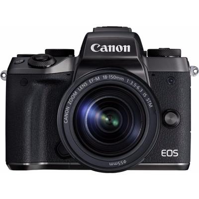 Image of Canon EOS M5 + 18-150mm + ADAPTER EU26 - Zwart