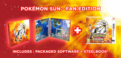 Pokemon Sun Steelcase Edition 3DS