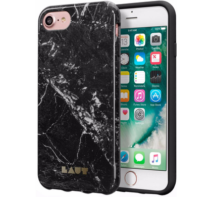 Laut Huex ElementsApple iPhone 7 Marble Zwart