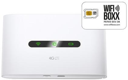 Wifiboxx TP-Link M7300 + Prepaid Data simkaart 1 GB