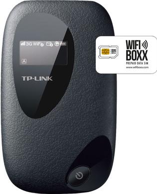 WifiBoxx TP-Link M5350 + Prepaid Data simkaart 250 MB