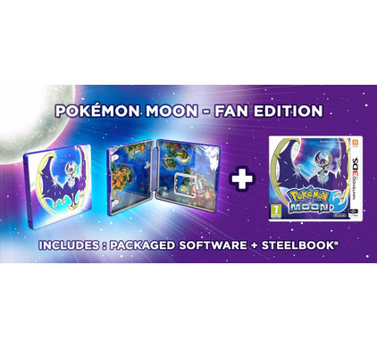 Pokemon Moon Steelcase Edition 3DS