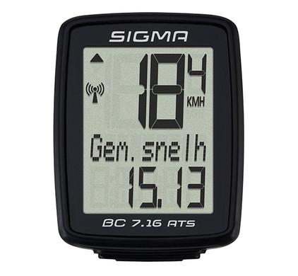 Sigma BC 7.16 ATS Zwart