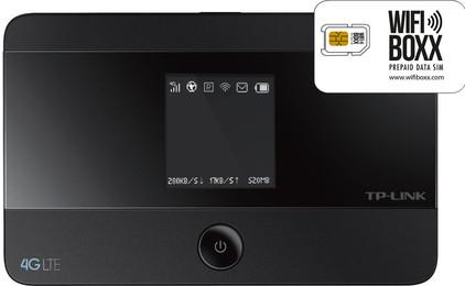 WifiBoxx TP-Link M7350 + Prepaid Data simkaart 1 GB
