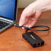 USB-C 3x 3.0 Hub met GbE en Voe - 6