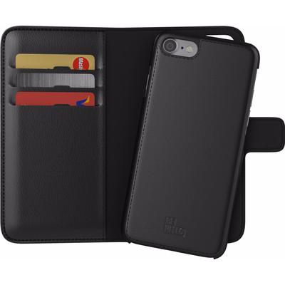Image of BeHello 2-in-1 Wallet Case Apple iPhone 7 Zwart