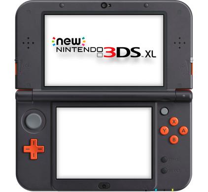 Nintendo 3DS XL Oranje