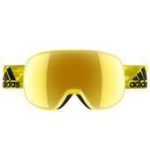 Adidas Progressor S Bright Yellow Shiny + Gold Mirror Lens