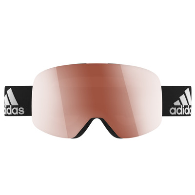 Image of Adidas Backland Black Shiny + Active Silver Lens