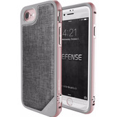 X-Doria Defense Lux Cover Apple iPhone 7 Grijs