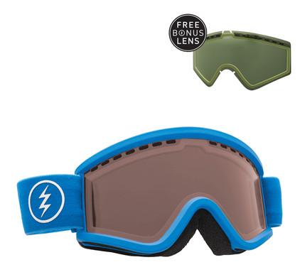 Electric EGV.K Royal Blue + Bronze & Light Green Lenzen