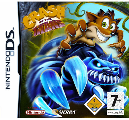 Crash of the Titans NDS