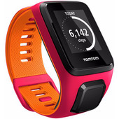 TomTom Runner 3 Cardio Dark Pink/Orange - S