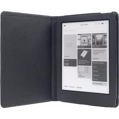 Image of Gecko - Luxe Beschermhoes Voor Kobo Aura Edition 2 (Zwart)