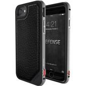 X-Doria Defense Lux Cover Apple iPhone 7 Zwart