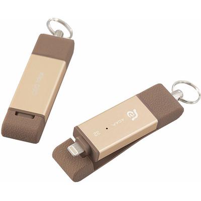 Image of Adam Elements iKlips Flash Drive DUO 32 GB Goud