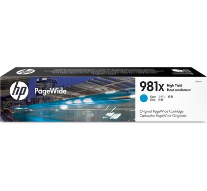 HP 981X Cartridge Cyaan (L0R09A)