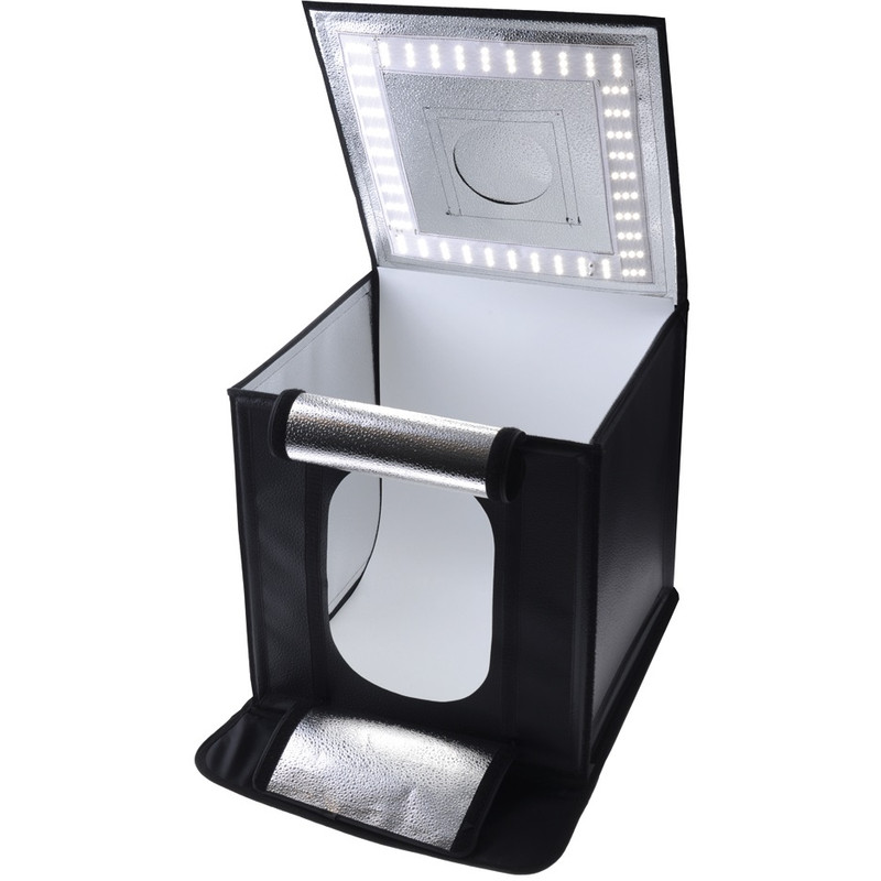 Caruba Portable Fotostudio LED 50x50x50cm