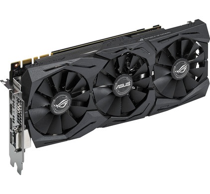 Asus GeForce Strix GTX 1080 A8G Gaming