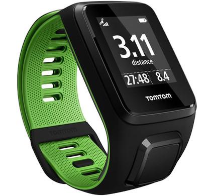 TomTom Runner 3 Black/Green - S