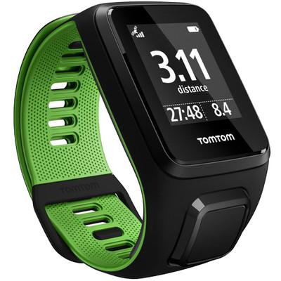 TomTom Runner 3 Cardio Black/Green - L